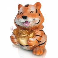 Тигр с благоприятными символами