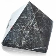 Пирамида оникс/нефрит ( 7,5 * 7,5 см ) серая темная