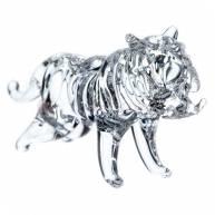 Тигр стеклянный, 3 см