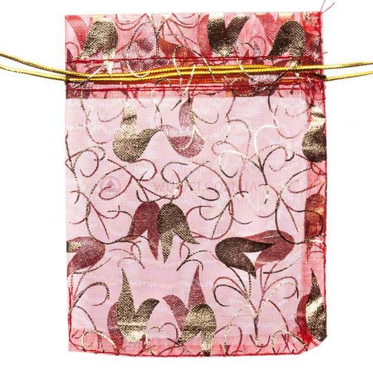Пакет подарочный тканевый ( 9*14 или 9*11,5 )
