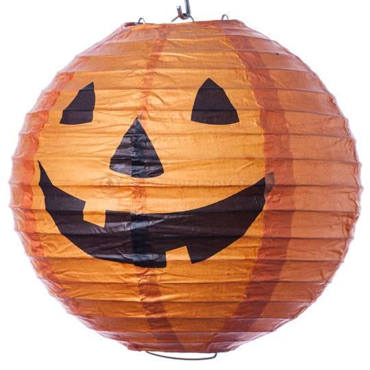 Фонарь «Хеллоуин» из рисовой бумаги