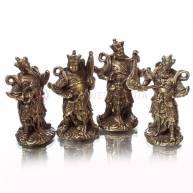 Набор бронзовых статуэток