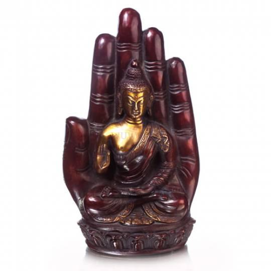 Будда на ладони