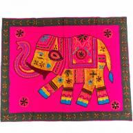 Скатерть с изображением слона, 90 х 74
