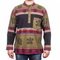 Рубашка непальская, плотный хлопок
