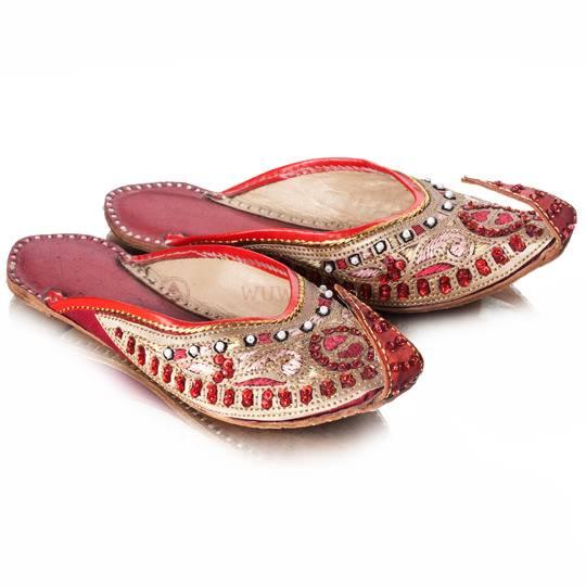 Тапки женские восточные с загнутыми носками