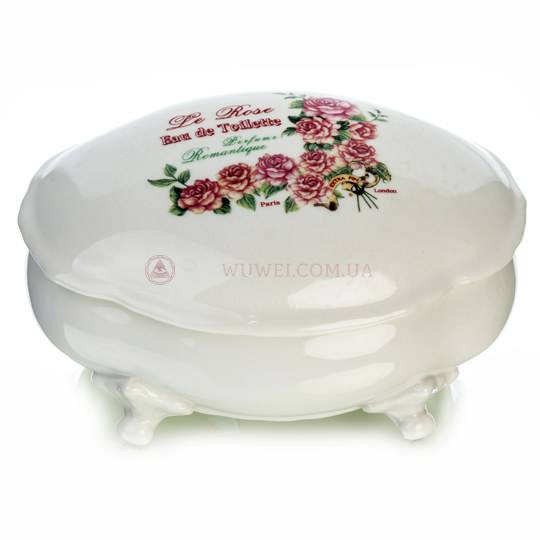 Ванночка керамическая с крышкой