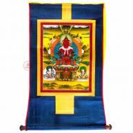Тханка «Будда Амитаюс» 52 х 86 см