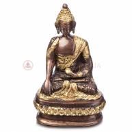 Будда на троне (бронза)