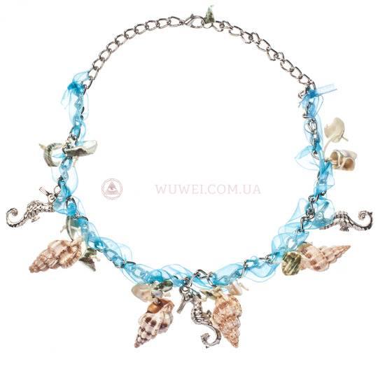 """Ожерелье """"Морские ракушки"""""""