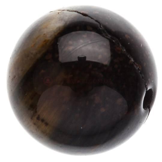 Бусина из cоколинного глаза 9 мм