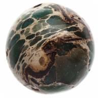 Бусина из африканской бирюзы 14 мм