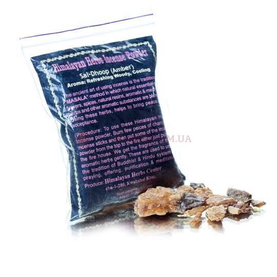 Порошковое благовоние санг «Himalaya Herbs Incense Powder»