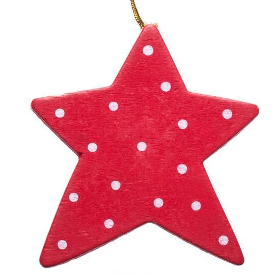 Украшение на елку «Красная Звезда»