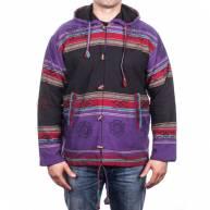 Куртка непальская разноцветная на пуговицах