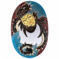 Зеркало настенное «Будда и дракон»