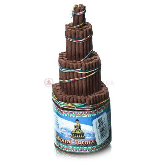 Благовония тибетские «Traditional Torma», 15 см
