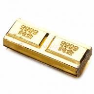 Золотой слиток прямогольный