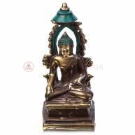 Будда в арке (бронза, трьохцветный)