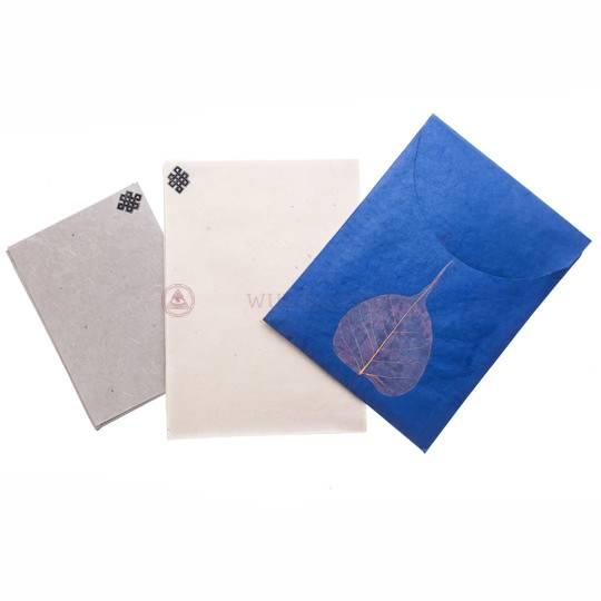 Набор: 8 конвертов+бумага для письма с логотипом