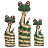 """Набор """"3 змейки"""" (дерево)"""
