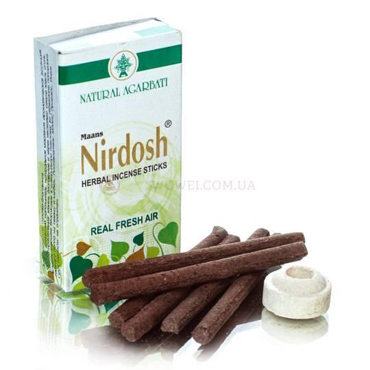 Благовония «Nirdosh» антитабак