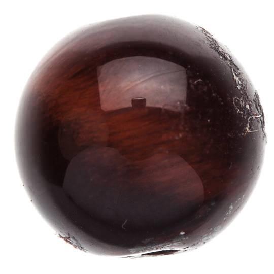 Бусинка из камня Бычий глаз 9 мм