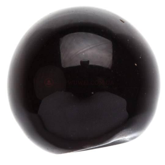 Бусина для четок Черный оникс 9 мм