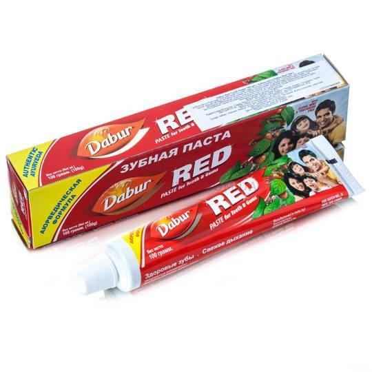 """Зубная паста """"Red"""" Dabur 100 гр"""
