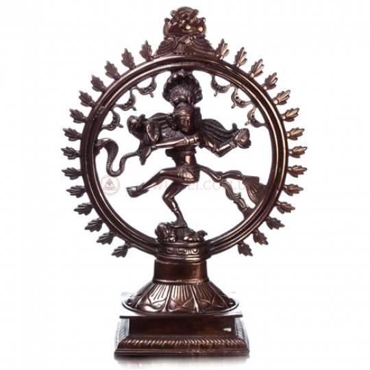 Шива Натарадж танцующий, силумин