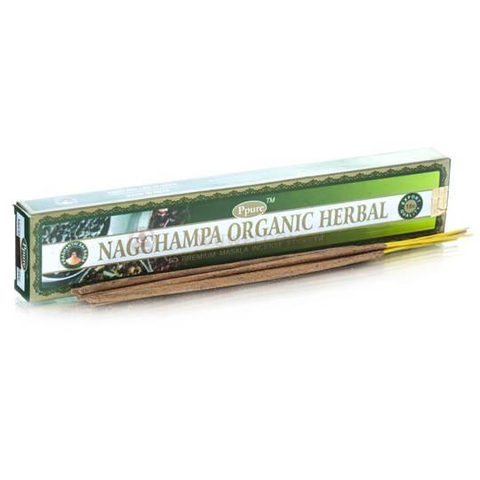 Благовония «Nagchampa Herbal Organic» Ppure 15гр