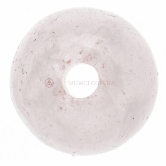 Бусина из розового кварца 4 мм