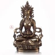 Будда Амитаюс на лотосе (храмовый)