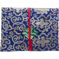 Тканевый конверт из китайского шелка 22 х 29 см