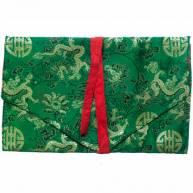 Тканевый конверт из китайского шелка 15 х 25 см