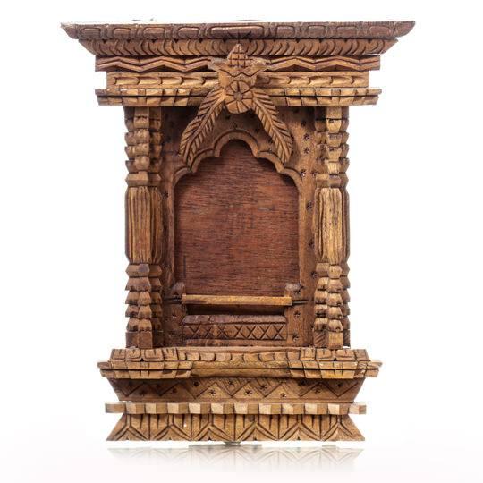 Деревянная рамка - алтарь