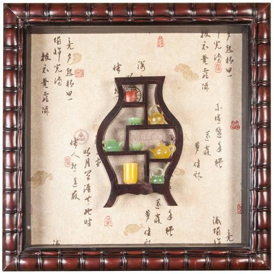 Картина объемная «Чайники» 63 х 63 см