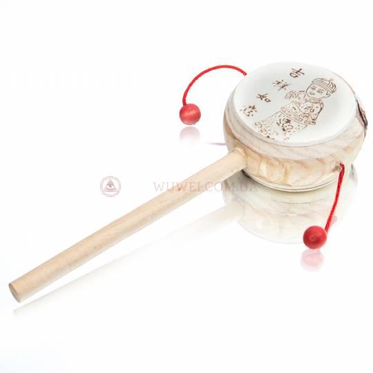 "Барабан ""Lucky Drum"", 6 см (пластик, дерево)"
