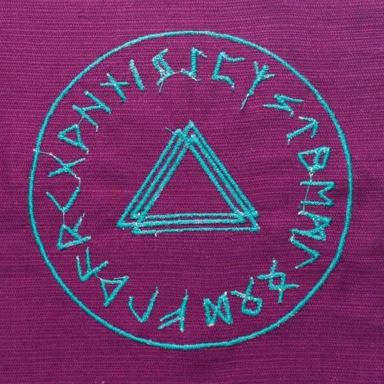 Скатерть для ритуальных обрядов с магическими символами