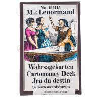 Mlle. Lenormand Cartomancy Deck на 36 карт)