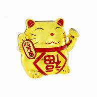 Манэки-нэко с золотым слитком в лапке