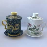 Чашка фарфоровая с ситом