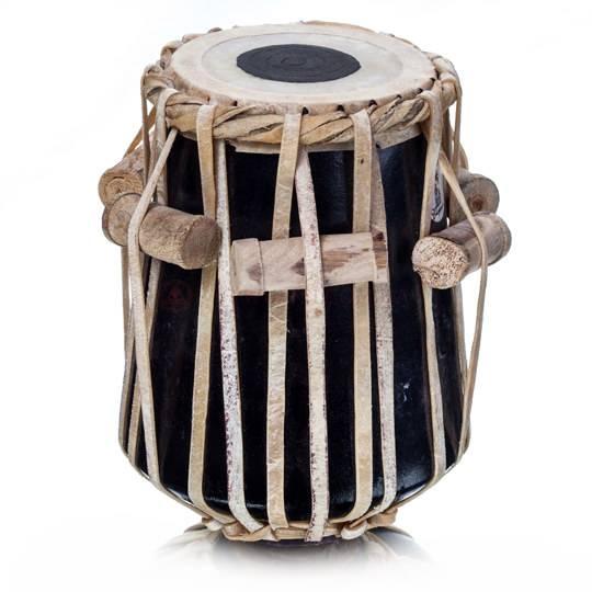 Барабан с деревянными пробками по окружности