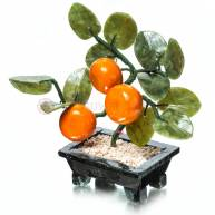 Дерево с мандаринами  ( 3 мандарины )