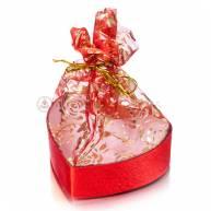 Подарочная упаковка в форме сердца ( 8 см )