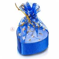 Подарочная упаковка в форме сердца ( 6 см )