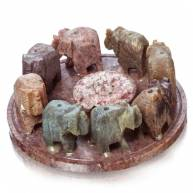 Подставка «8 слонов»
