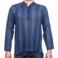Рубашка непальская, мужская, длинный рукав