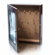 Ключница настенная, шкафчик на 11 крючков
