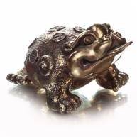 Жаба богатства, бронза